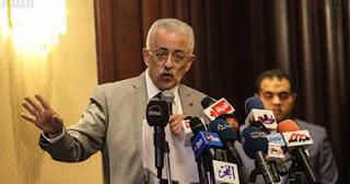 """وزير التعليم: """"شبعنا ورق عاوزين خطة عمل بالأرقام عشان نقضى على الأمية"""""""