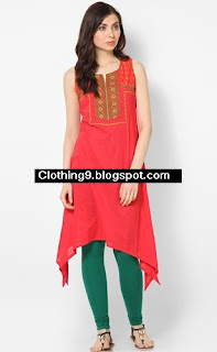Drop Corner Long Shirts Collection for Girls