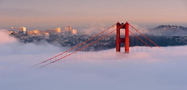 Tempo de avião até San Francisco
