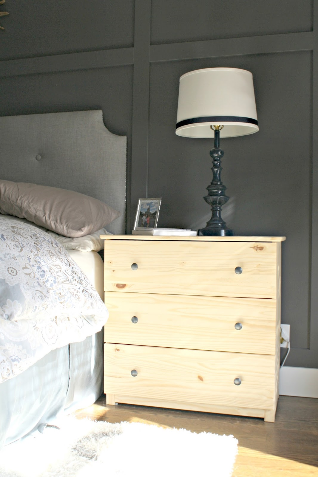 Old Ikea Nightstands Ikea Tarva transformation