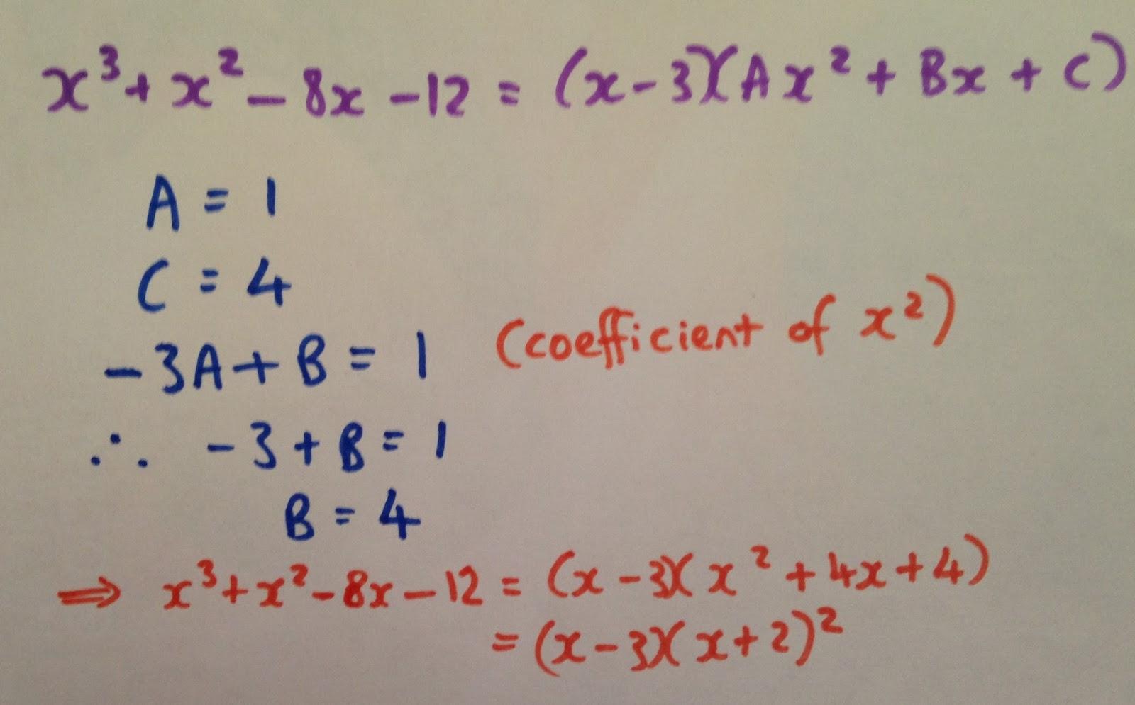 Dividing Polynomials Long Division Answers