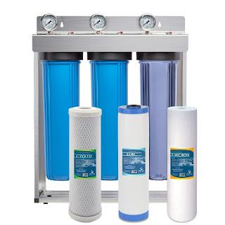 Filtr wody w całym domu