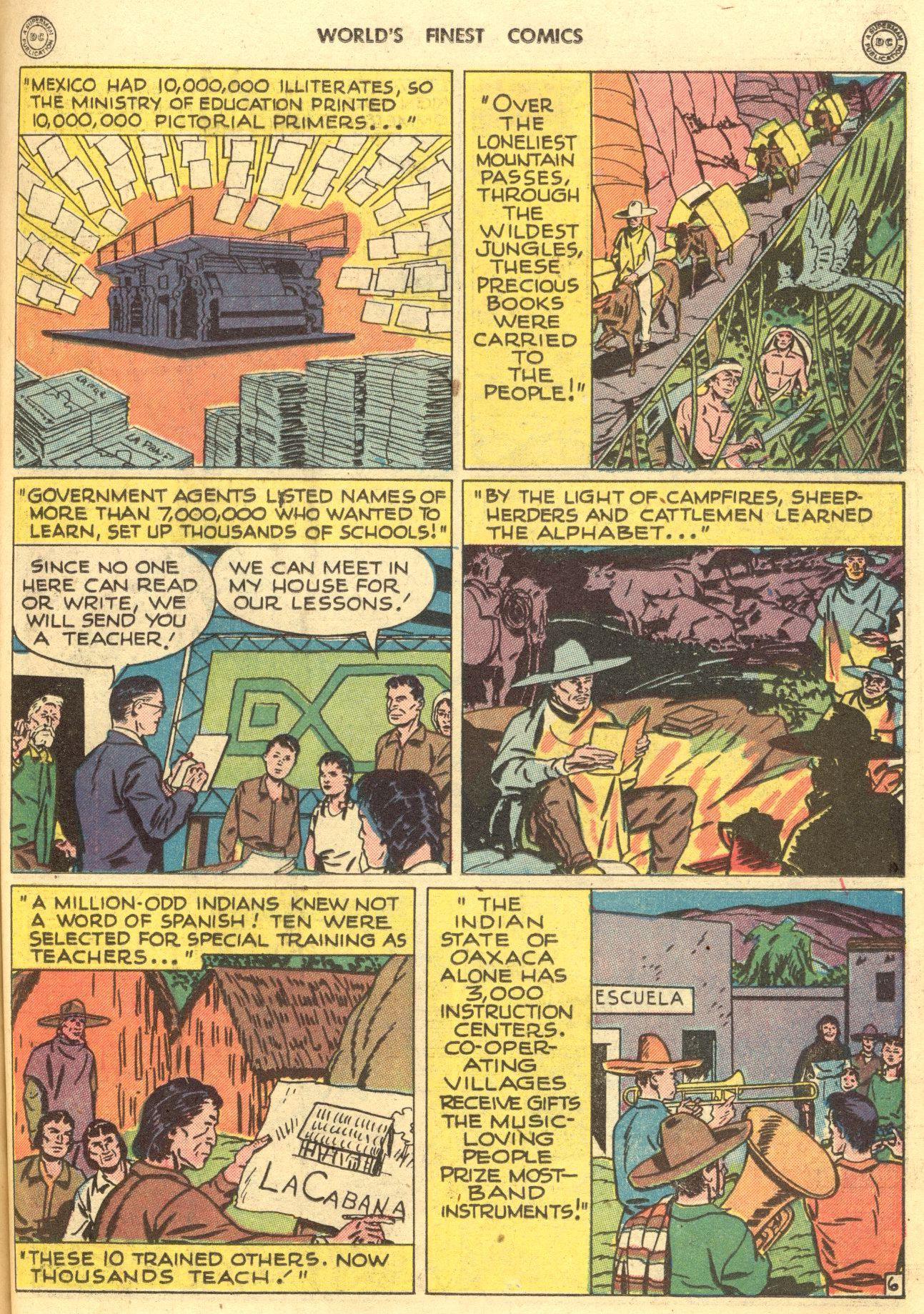 Read online World's Finest Comics comic -  Issue #28 - 56