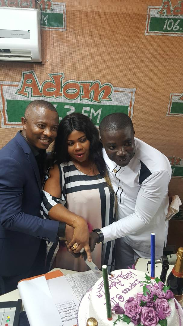Gifty Osei Celebrates 10 Years In Music With Adom FM