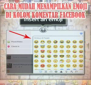 """Tak Perlu Lagi """"Copas"""" Kode, Begini Cara Mudah Menampilkan Emoji Terbaru Di Kolom Komentar Facebook"""