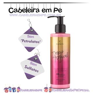 Loção Hidratante Desodorante Corporal Desejo Tropical - Eudora (Sem Petrolatos)