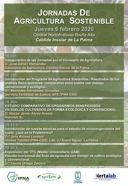 El Cabildo y el CSIC organizan unas jornadas formativas para promover la agricultura sostenible