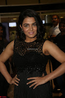 Wamiqa Gabbi in a sleeveless Black Designer Transparent Gown at 64th Jio Filmfare Awards South ~  Exclusive 120.JPG