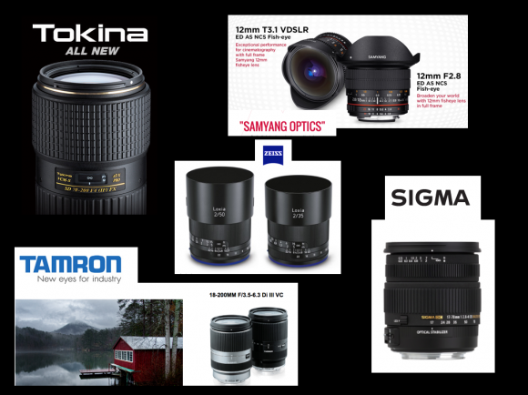 Original Canon and Nikon lenses vs third-party lenses: myths