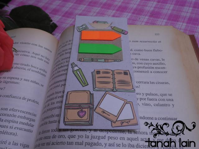 3 ideas de separadores de libros