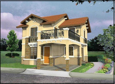 desain rumah minimalis modern 2 lantai | desain rumah