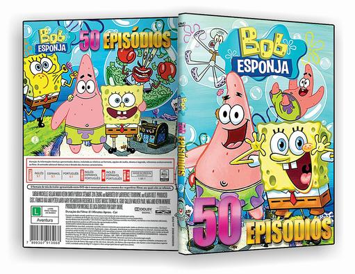 DVD – Bob Esponja Especial 50 Episodios – ISO