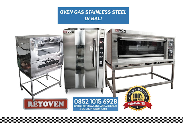 Jual Oven Gas Stainless di Bali