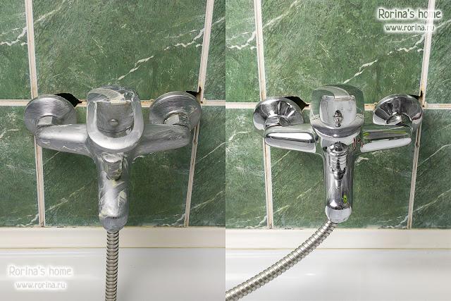 Как почистить кран до блеска зубной пастой?