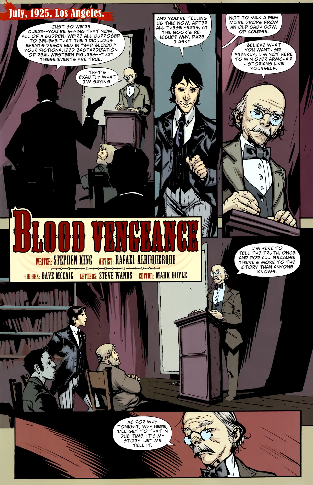 Read online American Vampire comic -  Issue #3 - 19