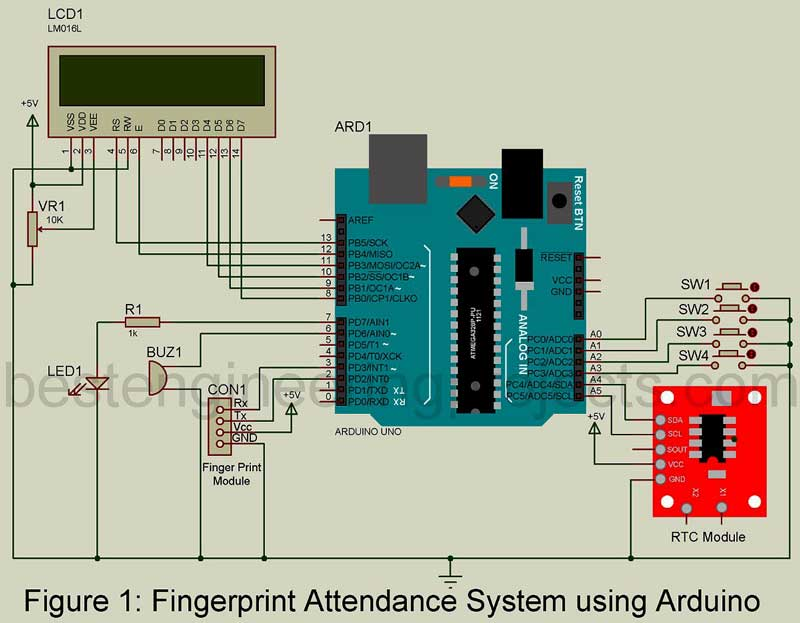 Attendance monitoring system by using arduino diy project