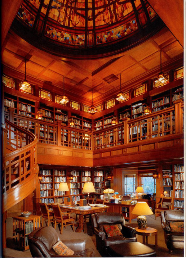 Amazing Home Libraries: The Muse's Library: Most Beautiful Libraries