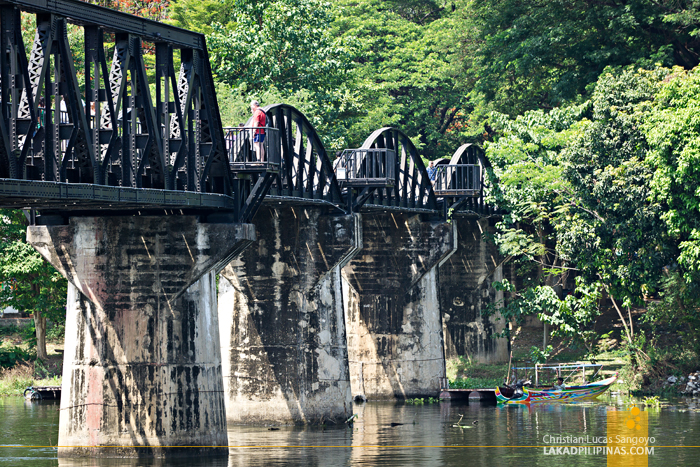 Death Railway Tour Bridge Over The River Kwai