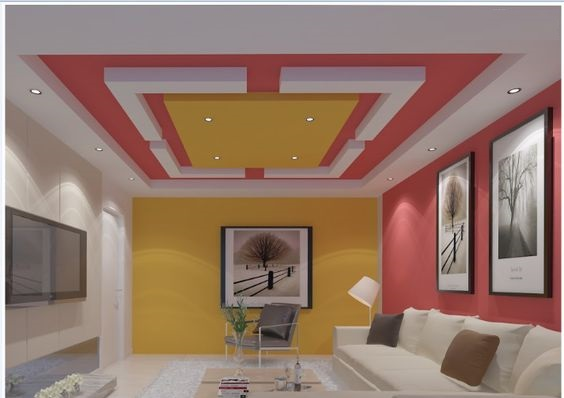 POP false ceiling designs: Latest 100 living room ceiling with LED ...