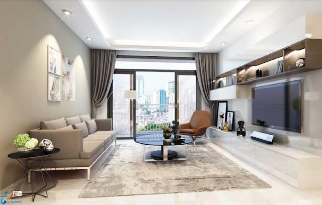 Phòng khách cao cấp bên trong căn hộ Gem Riverside