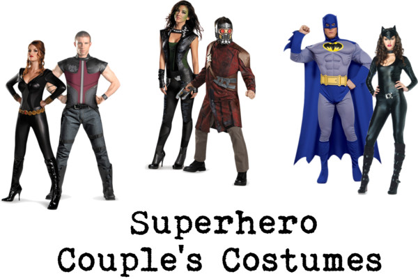 Top Superheroes Halloween Couple Costumes Ideas || Best Halloween 2016 Scary Design Costumes