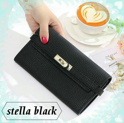 Jims Honey Stella Wallet Black