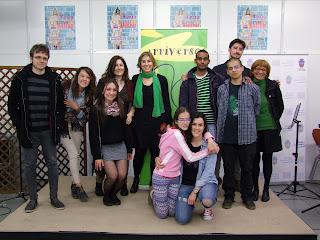 poesía joven, jóvenes poetas, spoken word, Gracia Iglesias, Sara Arias, Estrella Ortiz, Alflow, Sentido Figurado, Hoz
