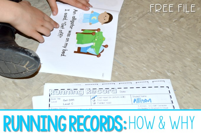 How to do running record assessments