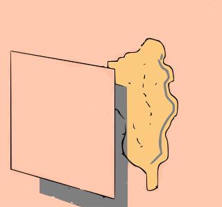 quadrato-carta-intera-superficie-danneggiata
