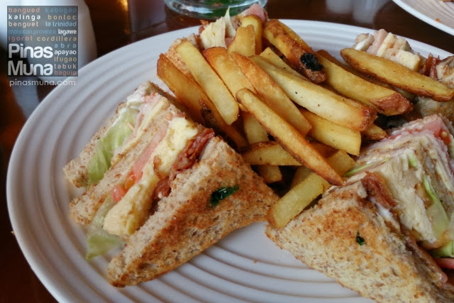 Manor Club Sandwich by Le Chef at The Manor