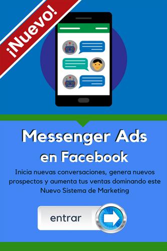 Messenger Ads en Facebook