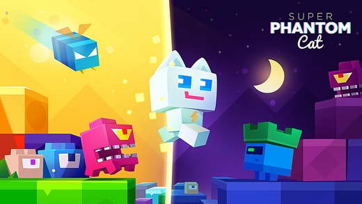 Kangen Super Mario ? Coba game Super Phantom Cat