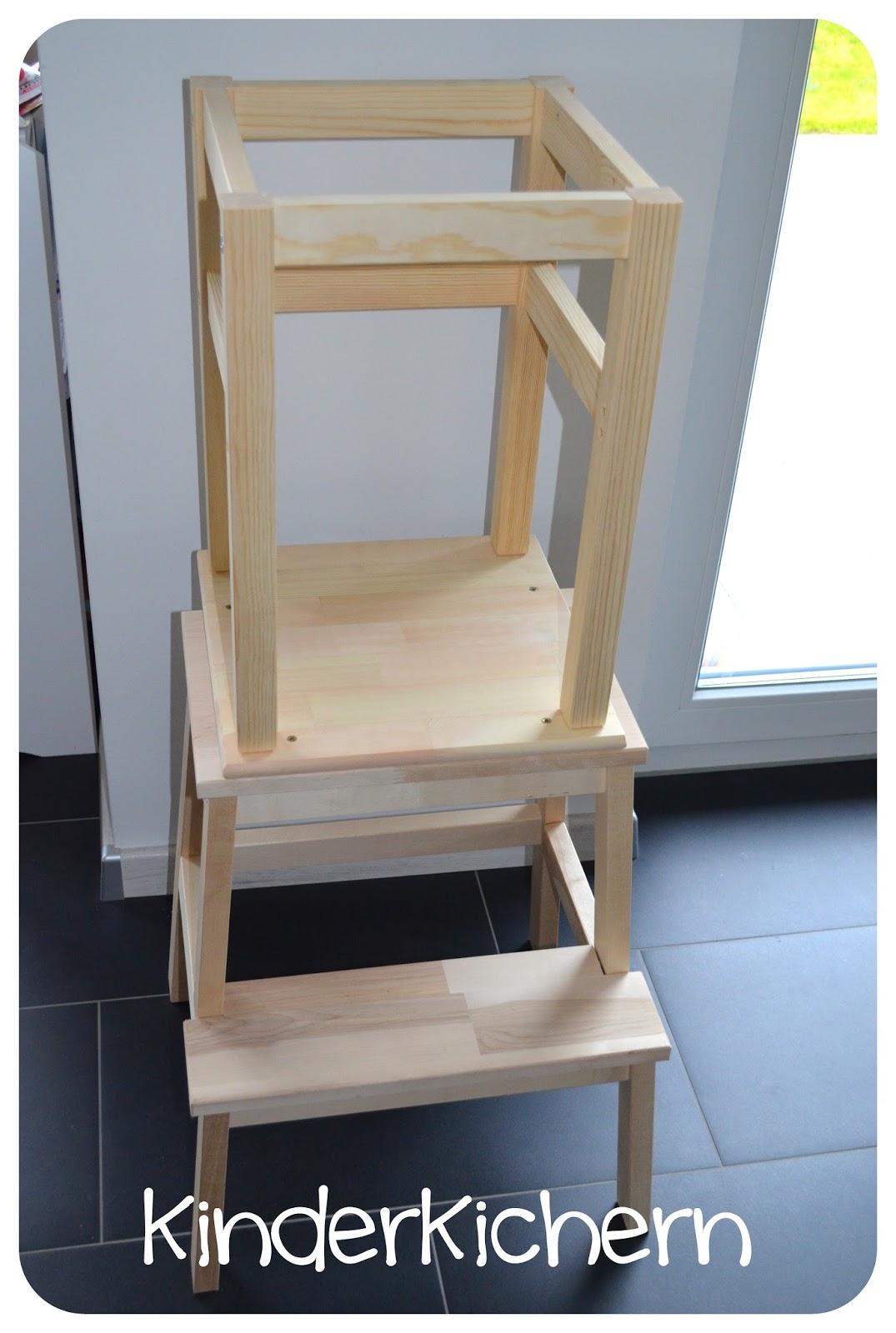 Ikea Hocker kinderkichern anleitung für einen learning tower