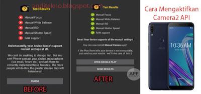 Cara Mengaktifkan Camera2Api pada Asus Zenfone Max Pro M1 Tanpa Root dan UBL