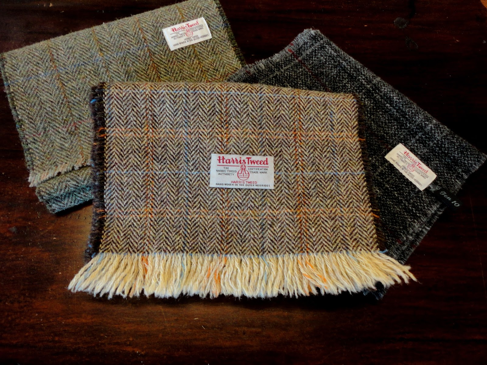 9d422e922594 Review Harris Tweed Scarfs Handmade by Ten 10 Creations on the Isle of Skye!