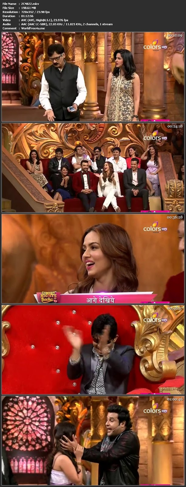 Screen Shot Of Comedy Nights Bachao 6th February 2016 Episode 22 200MB Watch Online
