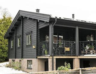 Дизайн-проекты. Графический интерьер альпийского дома в Боросе