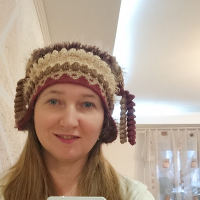 "Почти перуанская шапка. Шапка ""Прага"""