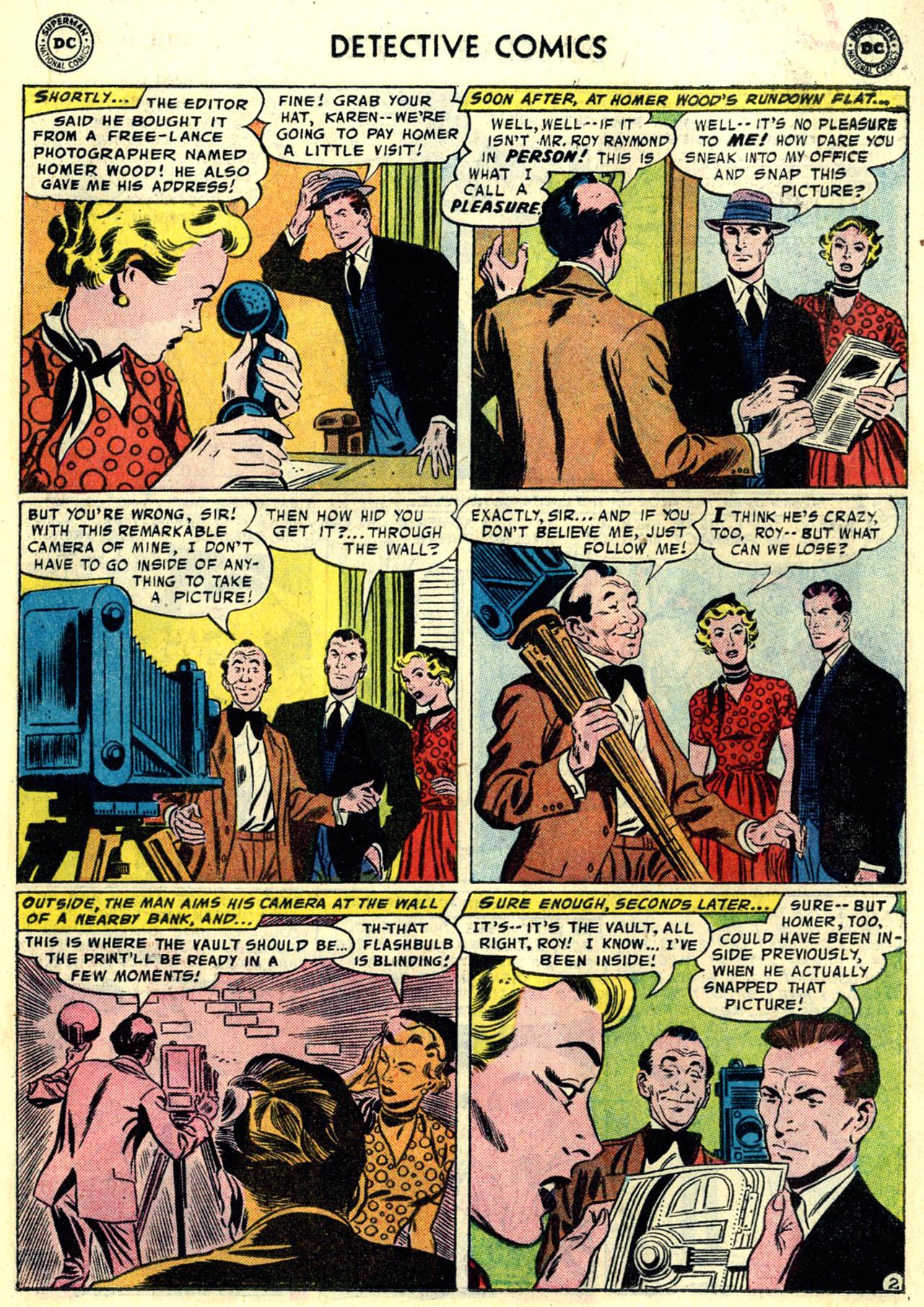 Read online Detective Comics (1937) comic -  Issue #246 - 19
