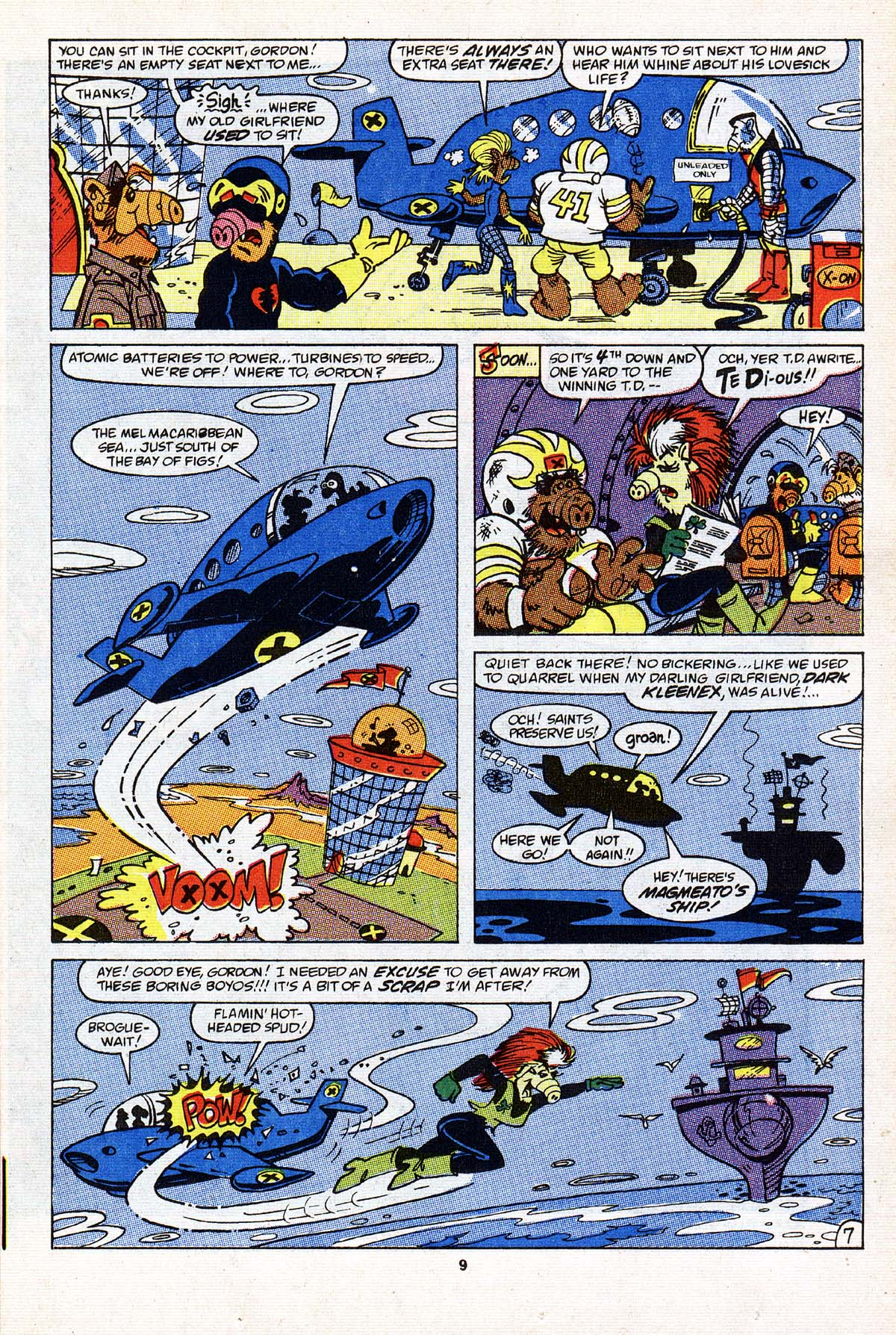 Read online ALF comic -  Issue #22 - 8