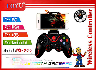 joystick controller bluetooth android ios pc windows ps3 foyu fo-003