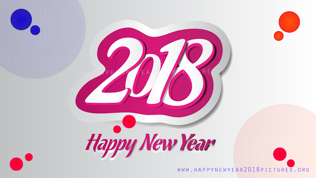 2k18 Happy new year illustration Banner vector images psd files