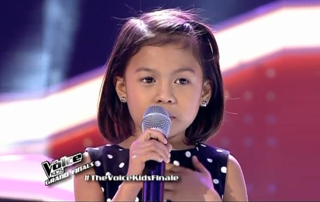 Watch Lyca Gairanod performed 'Basang-basa sa Ulan' on The Voice Kids PH Grand Finale