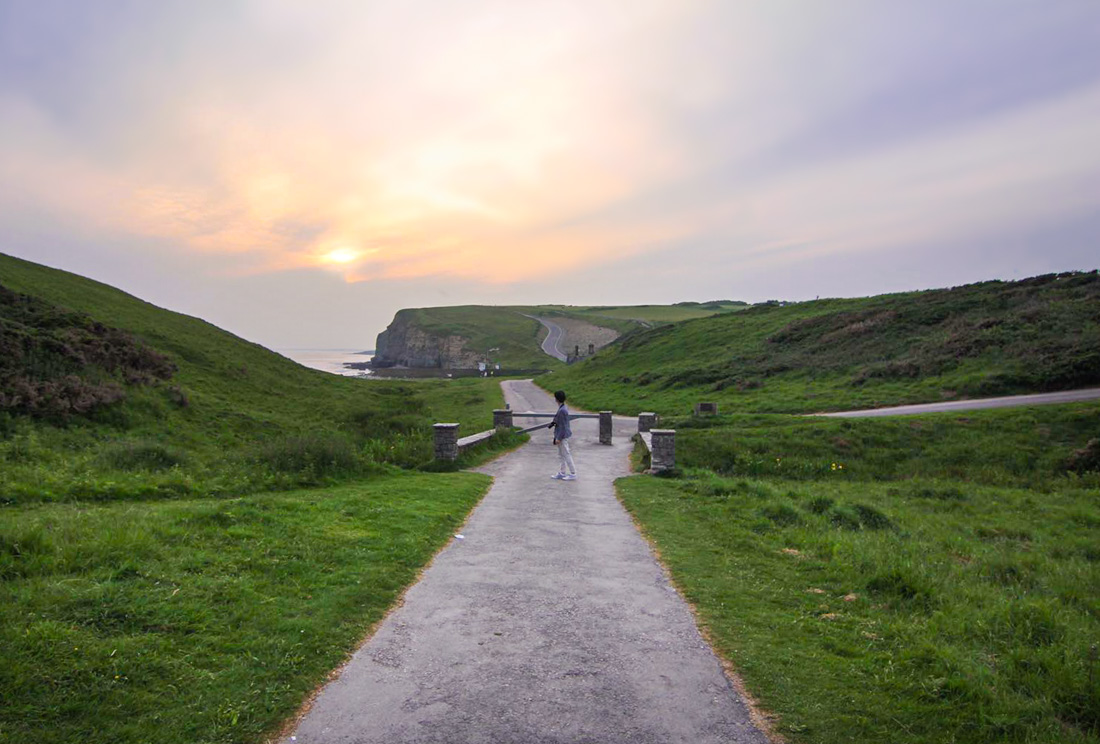 Dunraven Bay, Summer Sundowner Tour, Glamorgan Heritage Coast, Wales Coast Path