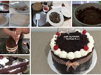 Resep Cara Membuat Kue Black Forest Rumahan.Dijamin Lezat,Praktis dan Ekonomis !!
