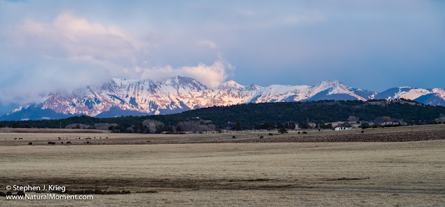 San Miguel Mountains, San Juan Mountain Range, Montrose County, Colorado.