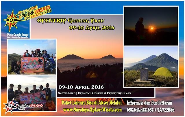 OPENTRIP Gunung Prau 2016