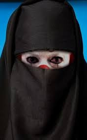clown in burka