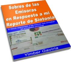 Sobres de las Emisoras en Respuesta a mi Reporte de Sintonía