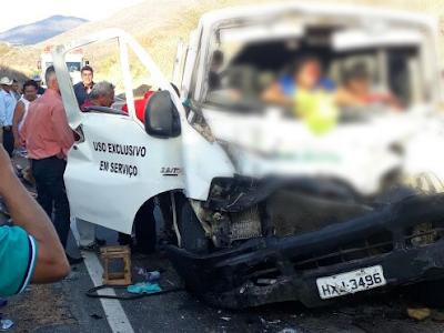 Acidente grave em Santa Quitéria deixa dois mortos e 10 feridos